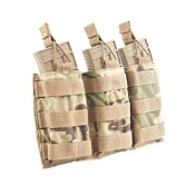 Tactical Assault Gear MOLLE Triple Shingle W/Bungees-Multicam