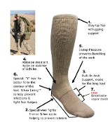 Covert Threads ICE Cold Weather Military Sock-Pair