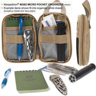 Maxpedition Micro EDC Pocket Organizer